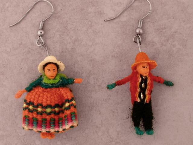 Handmade jewelry from Peru